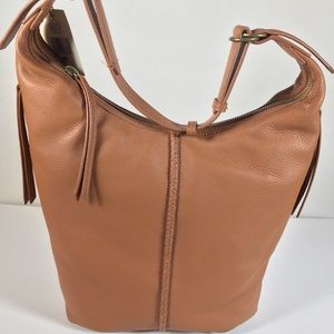 Lucky Brand NWT Napa Hobo Bag